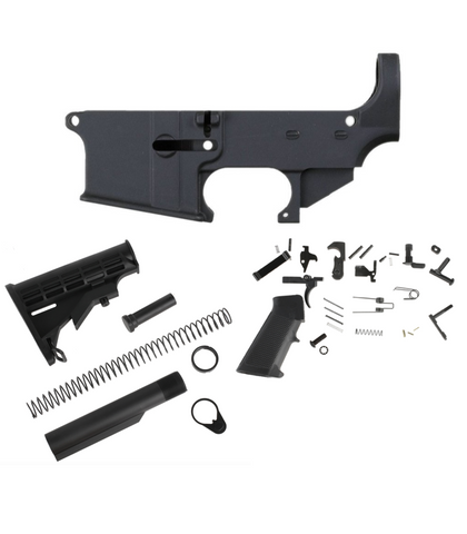 80% AR15 LOWER BUILD COMPLETE KIT