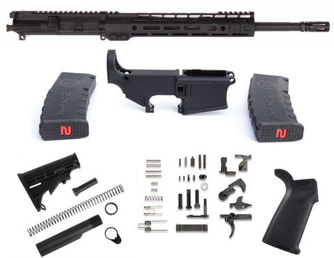 80% COMPLETE 5.56 BALLISTIC ADVNATGE SLR RIFLE BUILD KIT