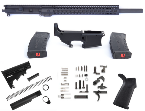 "80% COMPLETE 5.56 20"" BULL BARREL RIFLE BUILD KIT"