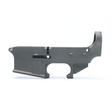 80% 5.56 / .223 LOWER RECEIVER OPEN TRIGGER - GREY