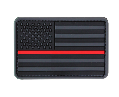 CONDOR AMERICAN FLAG PATCH - RED LINE