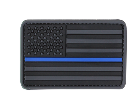 CONDOR AMERICAN FLAG PATCH - BLUE LINE