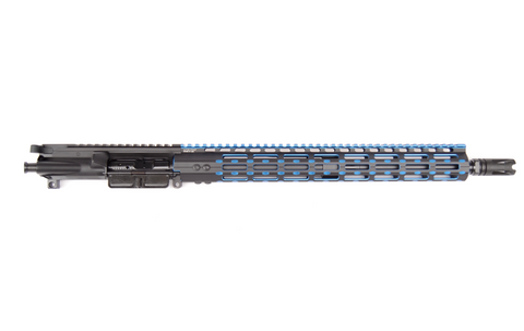 "458 SOCOM 16"" BLUE M-LOK FREE FLOAT COMPLETE UPPER"
