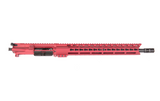 "5.56 16"" KEYMOD FREE FLOAT COMPLETE UPPER - RED ANODIZED"