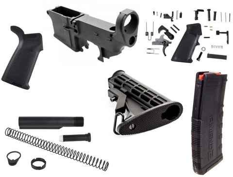 AR-15 80% LOWER RIFLE COMPLETION KIT 1