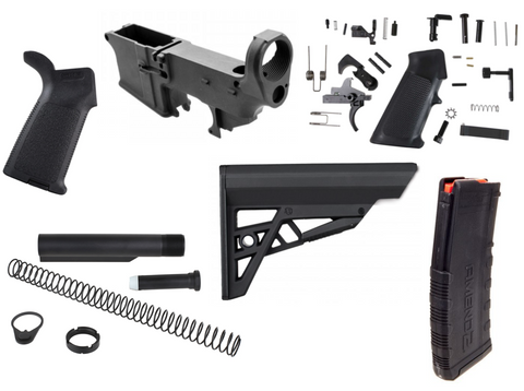 AR-15 80% LOWER RIFLE COMPLETION KIT 2