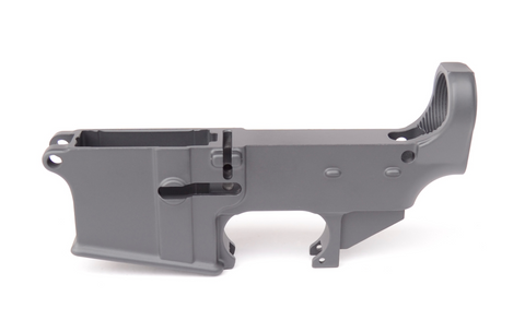 80% CERAKOTE AR-15 LOWER RECEIVER - SNIPER GREY