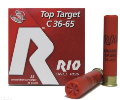"RIO TOP TARGET .410 - 2 1/2"" 1/2 OZ 8 SHOT SHOTGUN SHELLS - 25 COUNT"