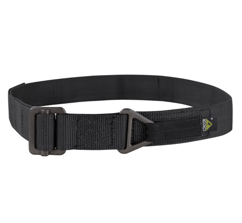 "CONDOR BLACK RIGGER BELT SMALL - 24"" - 32"""