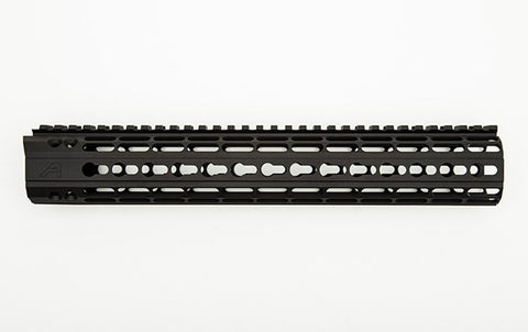 "AERO PRECISION 12"" AR-15 ENHANCED KEYMOD HANDGUARD GEN 2 - BLACK"