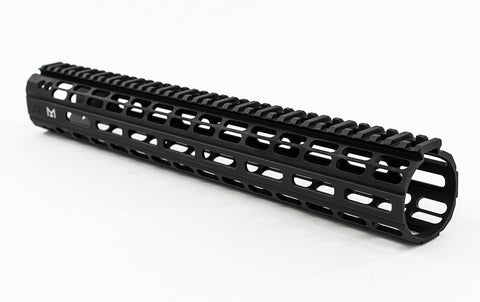 "AERO PRECISION 15"" AR-15 ENHANCED M-LOK HANDGUARD GEN 2 - BLACK"