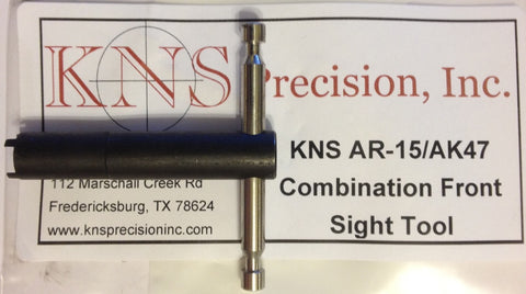 KNS AR-15/AK47 COMBINATION FRONT SIGHT TOOL