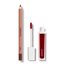 persona spring lip set 90210 lip liner and hibiscus lip gloss