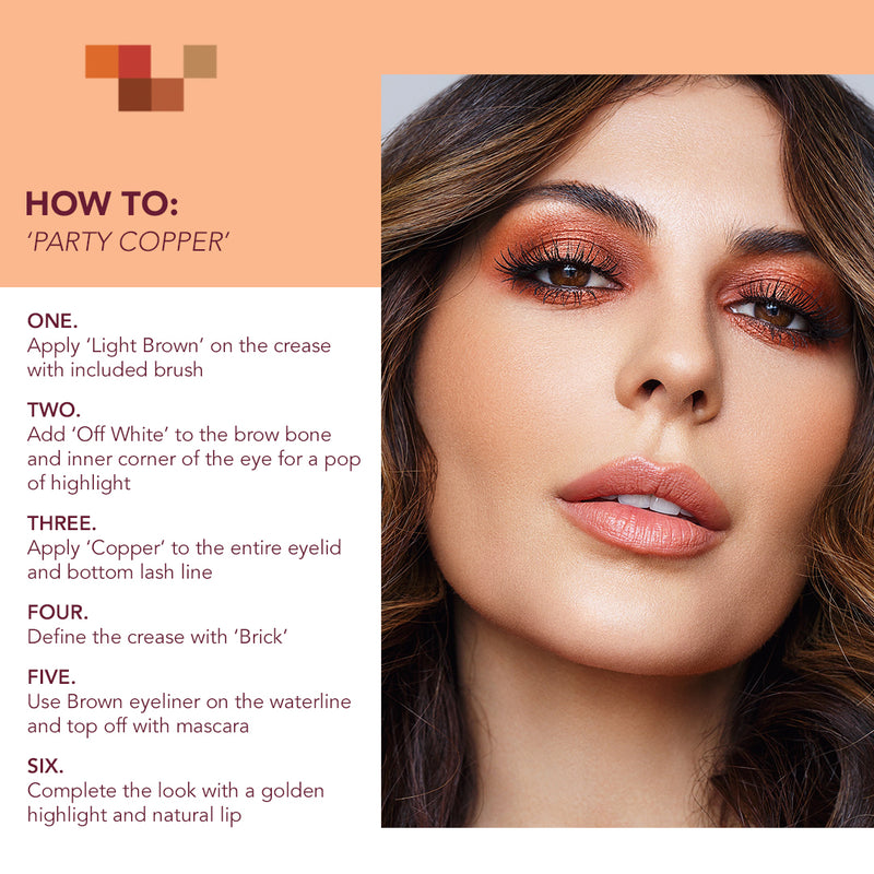 how to use copper palette