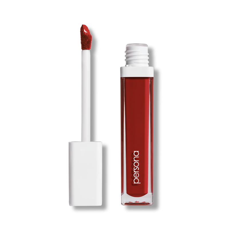 persona matte red lipstick in holy grail