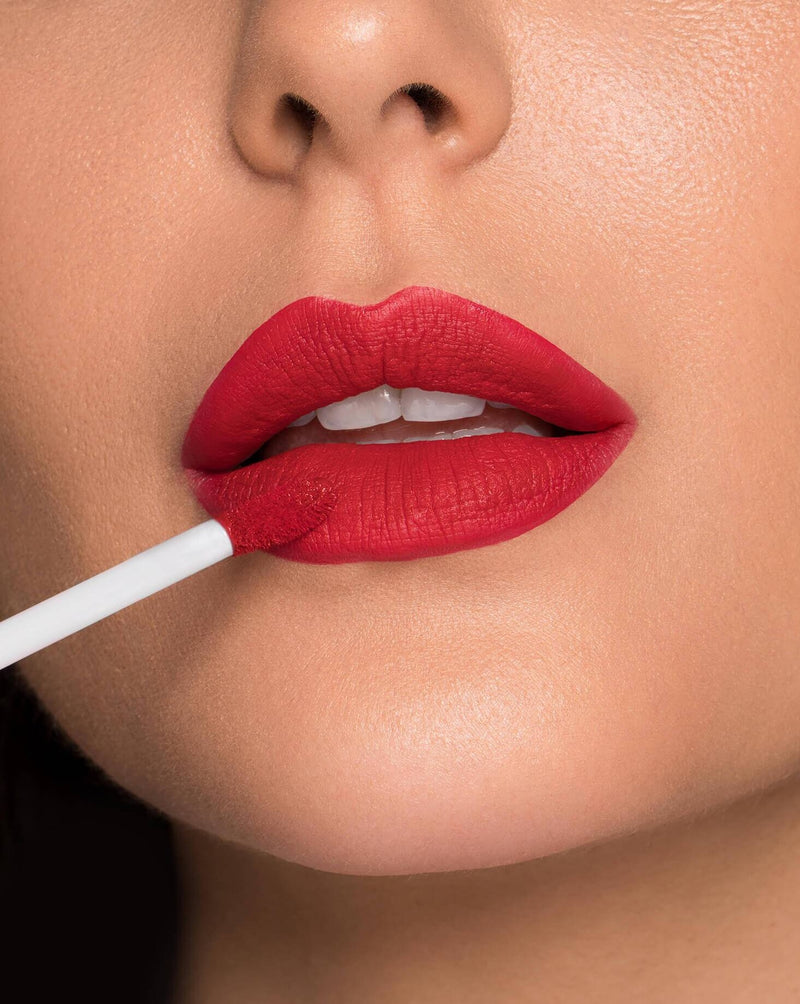 true red matte liquid lipstick
