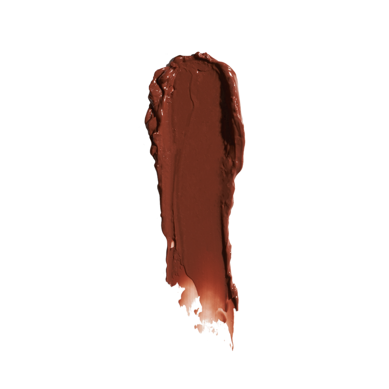 sheer chocolate brown ebalm swatch