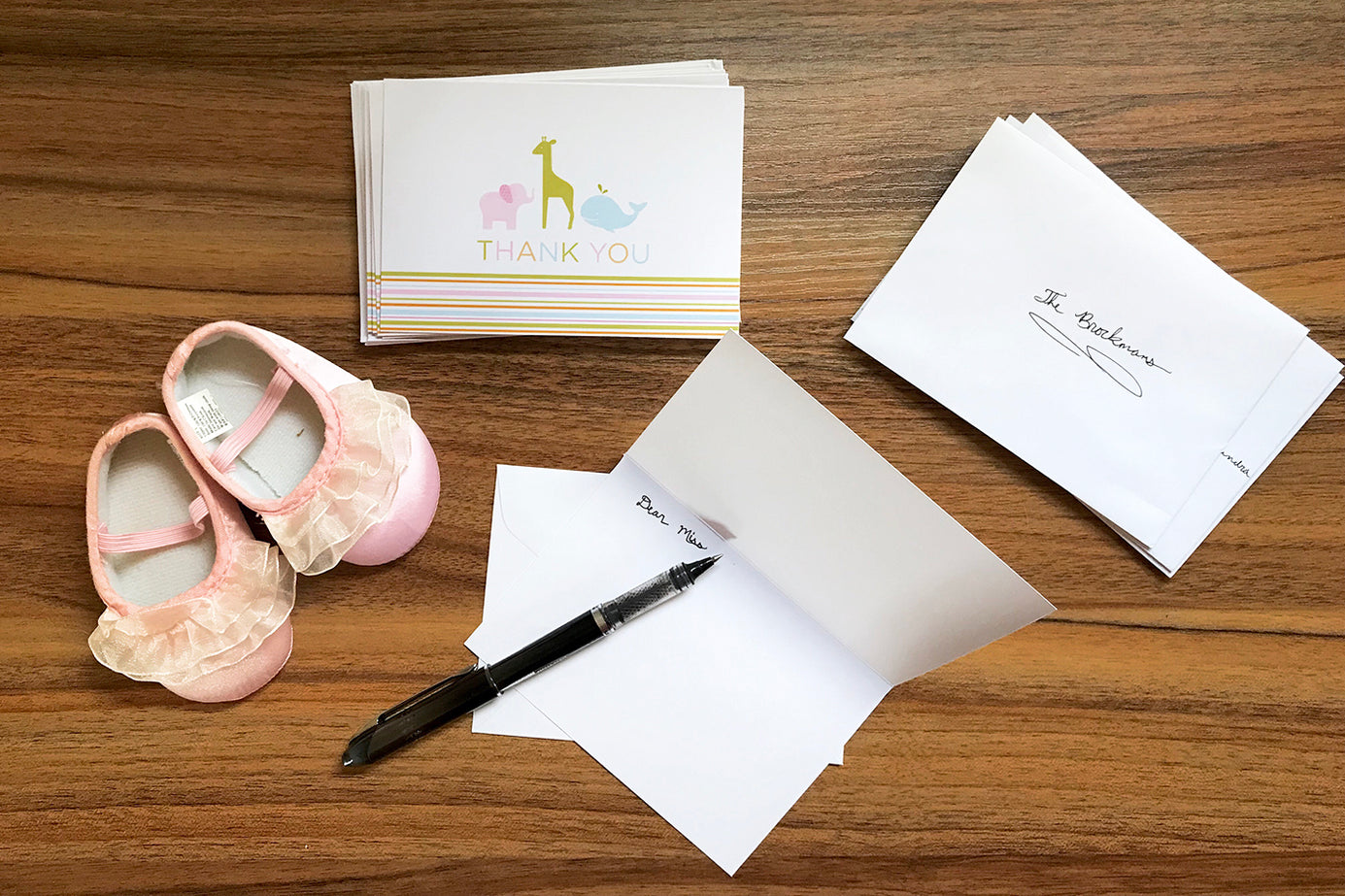 Baby Shower Thank You Cards What To Write In A Baby Shower Card Examples Happiest Baby