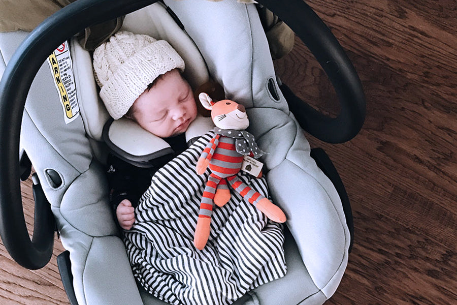 67d1ab026920 If you re confused about whether it s safe to let your baby sleep all night  in a car seat