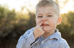 How to Stop Toddler Nose Picking