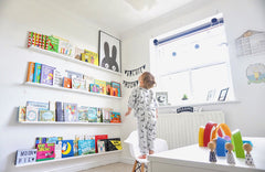 11 Stylish Nursery Bookshelves