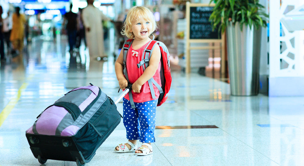 Preventing Jet Lag & Other Tips for Traveling with Kids