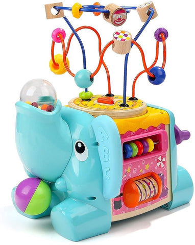 Toddler busy cube
