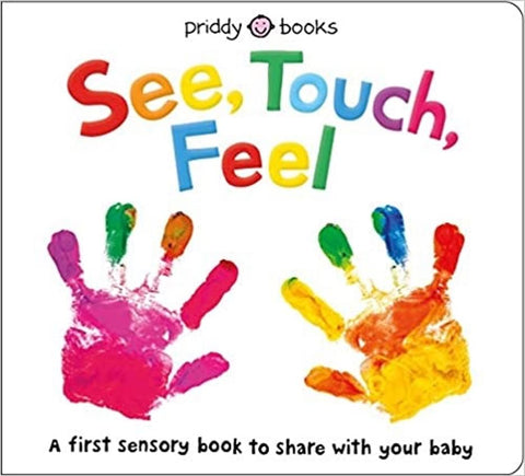 See, Touch, Feel sensory book for toddlers