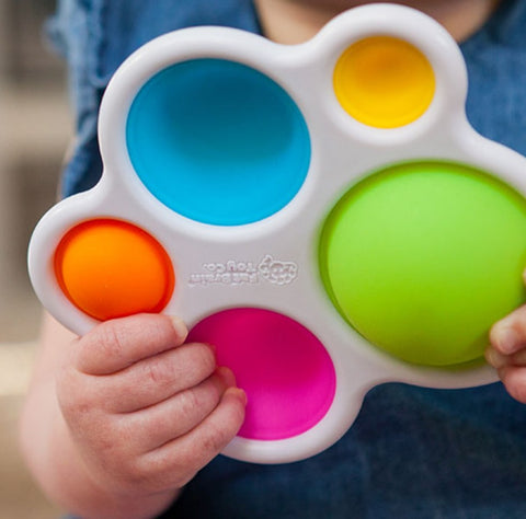 Dimpl toy for babies