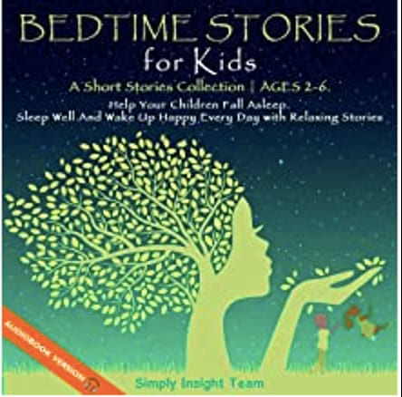 Cover of Bedtime Stories for Kids