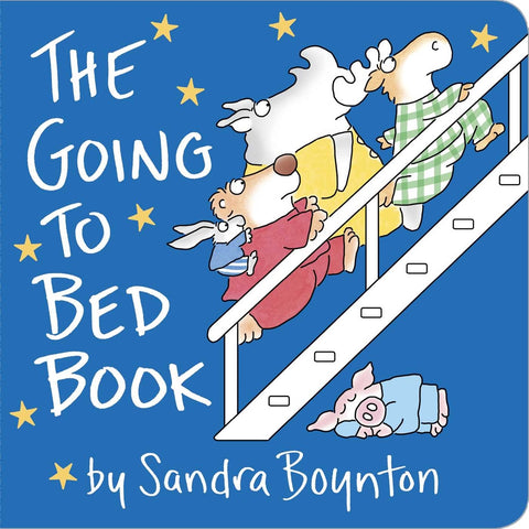 bedtime books - The Going to Bed Book by Sandra Boynton