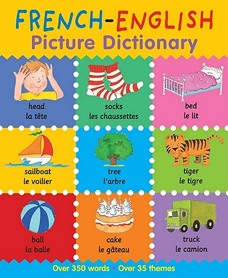 French children's books - French-English Picture Dictionary