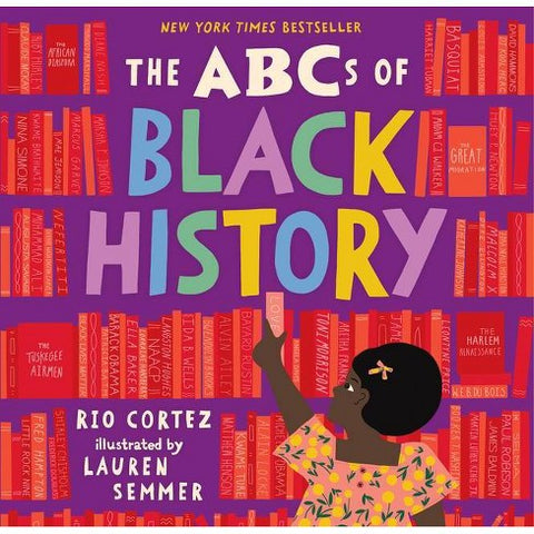 Black history books - ABCs of Black History