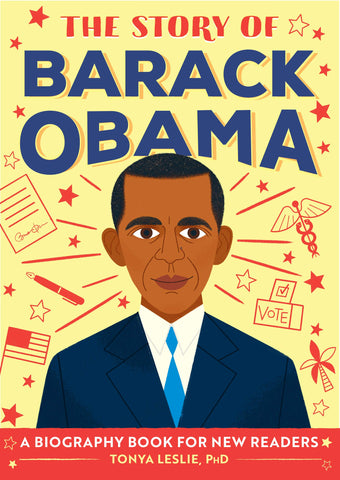 Black history books - The Story of Barack Obama