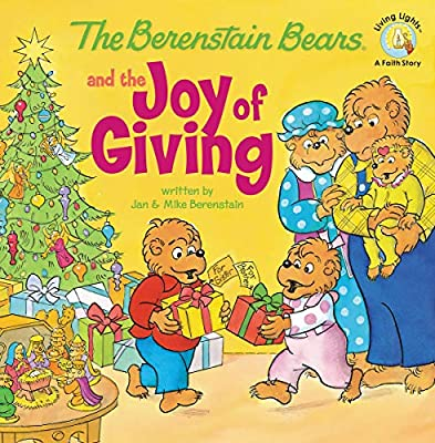Christmas books - Berenstain Bears Joy of Giving