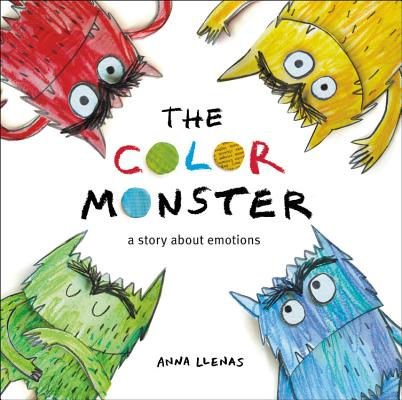The Color Monster by Anna Llenas book cover