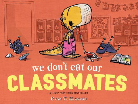 First Day of School Books: We Don't Eat Our Classmates