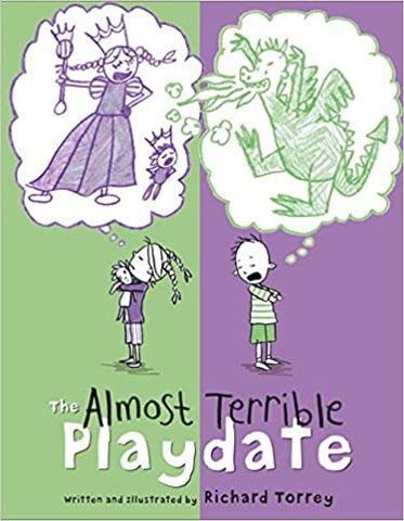 Friendship books - the almost terrible playdate