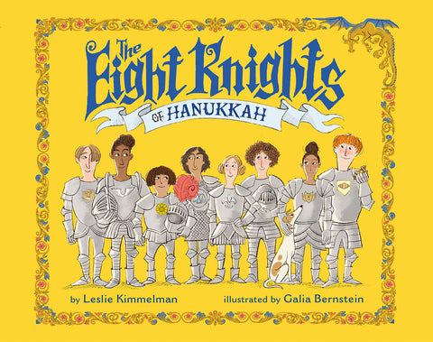 Hanukkah books - Eight Knights