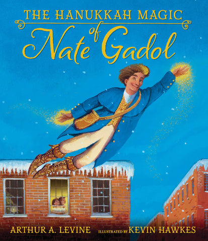 Hanukkah books - The Hanukkah Magic of Nate Gadol