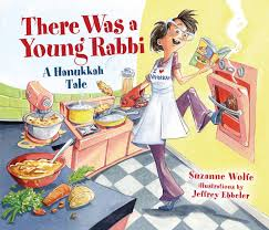Hanukkah books - There Was a Young Rabbi