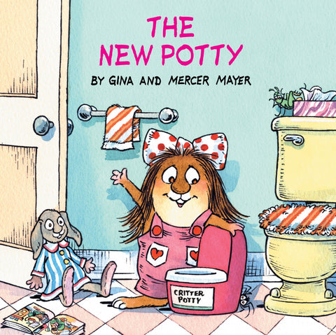 """""""Little Critter the New Potty"""" book cover"""