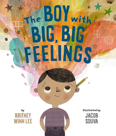 The Boy With Big Big Feelings book cover