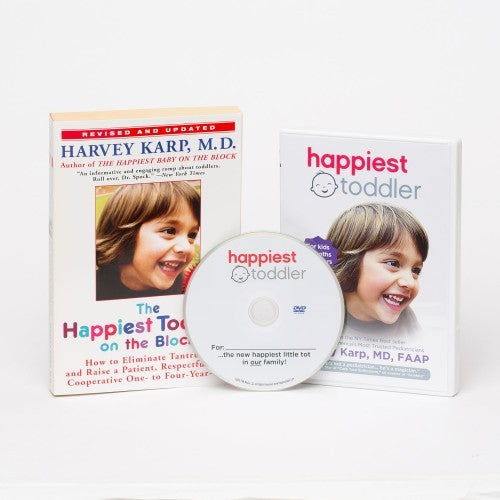Happiest Toddler Book & DVD Combo