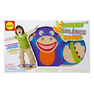Monkey Balancing Board - Alex - eBeanstalk