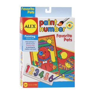 Paint by Numbers Pets - Alex - eBeanstalk