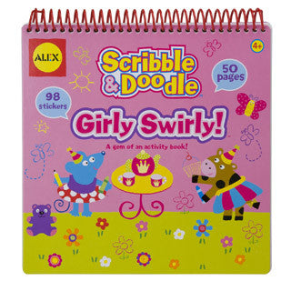 Scribble and Doodle Girly Swirly - Alex - eBeanstalk