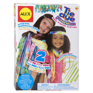 Tie Dye Scarves - Alex - eBeanstalk
