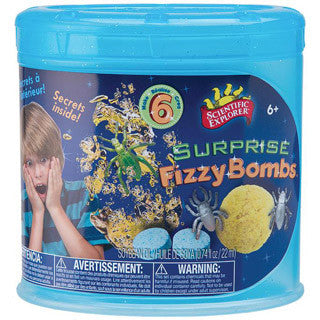 Surprise Fizzy Bombs Activity Kit - Scientific Explorer - eBeanstalk
