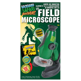 Backyard Safari Field Microscope - Alex - eBeanstalk